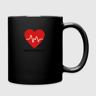 Heart New Plymouth - Full Color Mug