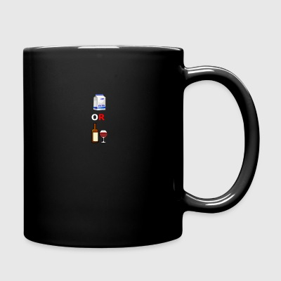 milk or wine - Full Color Mug