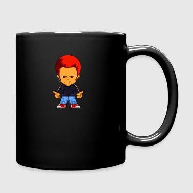 Little Gangster Comic Figure Crime - Full Color Mug
