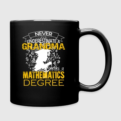 Mathematics Grandma Shirt - Full Color Mug