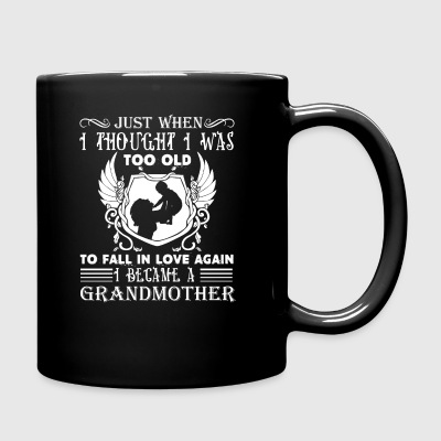 Became A Grandmother Shirt - Full Color Mug