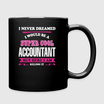 Super Cool Accountant Shirt - Full Color Mug