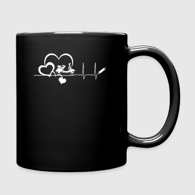 Scooter Heartbeat Shirt - Full Color Mug