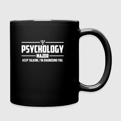 Psychology Major Shirt - Full Color Mug