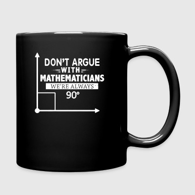 Mathematician Shirt - Full Color Mug