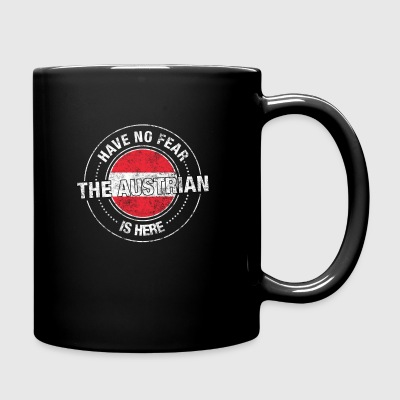 Have No Fear The Austrian Is Here - Full Color Mug