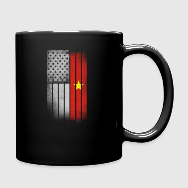 Vietnamese American Flag - Full Color Mug