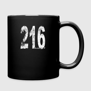 Vintage Cleveland Area Code 216 - Full Color Mug