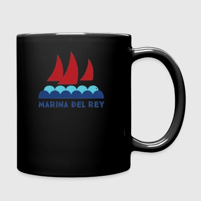 marina del rey - Full Color Mug