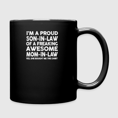 Proud Son In Law Of Awesome Mother In Law TShirt - Full Color Mug