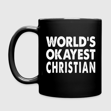 World's Okayest Christian Christianity - Full Color Mug