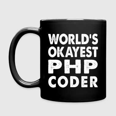 World's Okayest PHP Coder - Full Color Mug