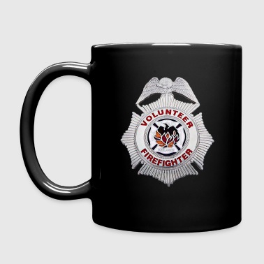 volunteer firefighter - Full Color Mug