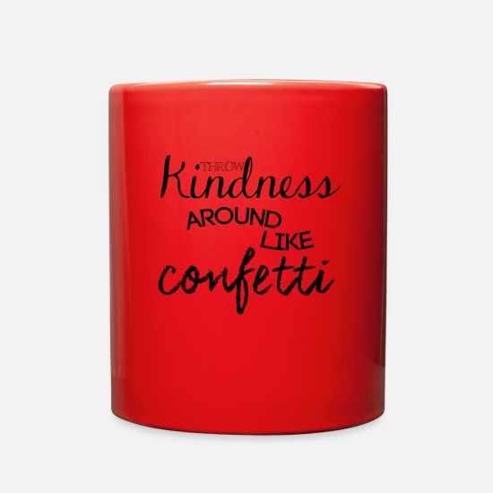 Quote Mugs & Drinkware - Quote - Full Color Mug red