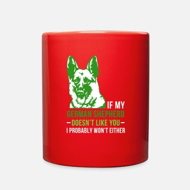 German Shepherd My german shepherd - Full Color Mug