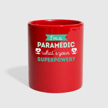Paramedic Superpower Profession Healthcare T-shirt - Full Color Mug