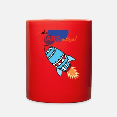 Sikh Funny Design mars sutiya in punjabi - Full Color Mug