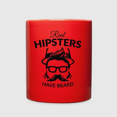 Hipster Hipsters - Full Color Mug