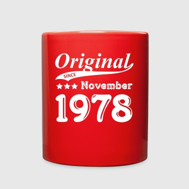 1978 Original Since November 1978 Gift - Full Color Mug