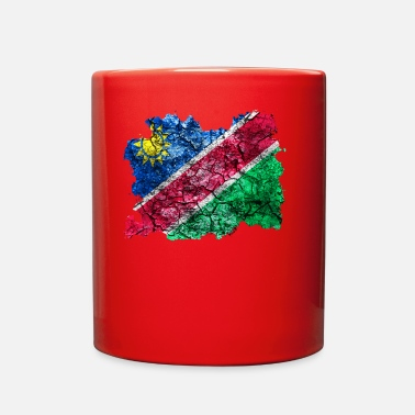 Vintage Namibia Vintage Flag - Full Color Mug
