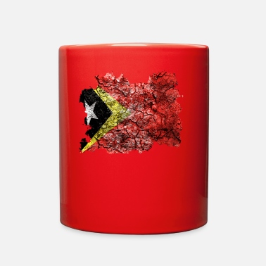 Vintage Timor-Leste Vintage Flag - Full Color Mug