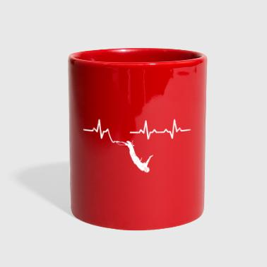 Heartbeats Bungee Jumping Recreational Sports - Full Color Mug