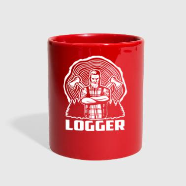 Logger Lumberjacks Gifts T-shirt - Full Color Mug
