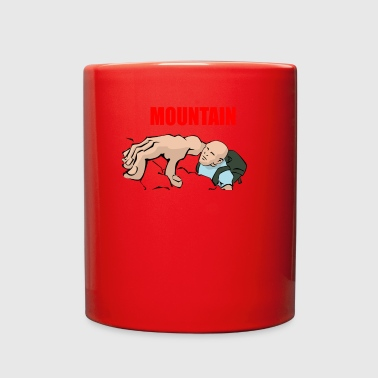 Mountain Climbing mountain climbing - Full Color Mug