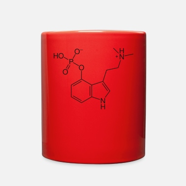 Magic psylocibin drug magic mushrooms - Full Color Mug