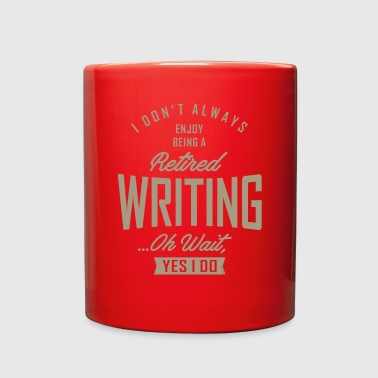 Writing Writing - Full Color Mug