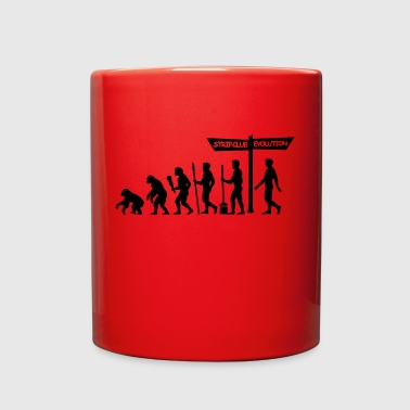 Strip Club Evolution Strip club - Full Color Mug