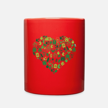 Recycled Art recycle - Full Color Mug