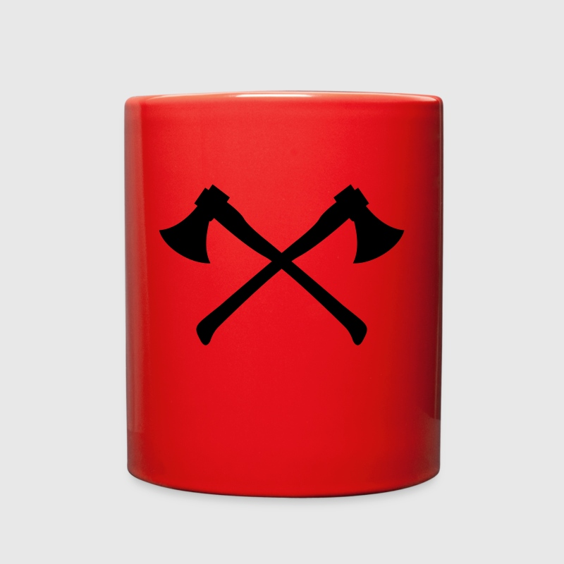 Two Axes - Crossed Axes - Full Color Mug