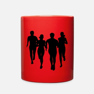 Running run, running - people running - Full Color Mug