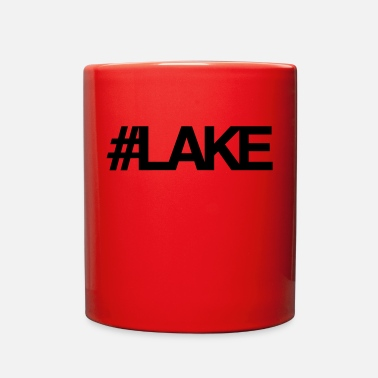 Lake #Lake - Full Color Mug