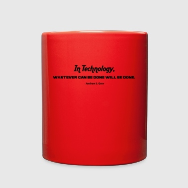 IN TECHNOLOGY - Full Color Mug