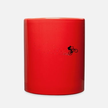Mountain Biking mountain bike biking cycling - Full Color Mug