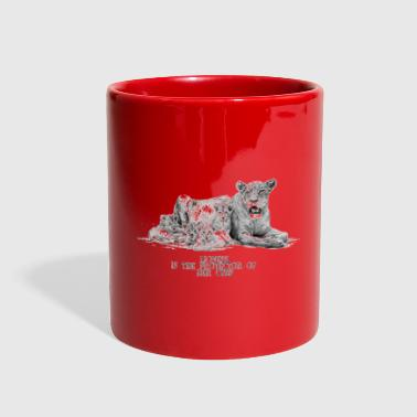 Lioness - Full Color Mug