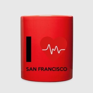 I Love San Francisco - Full Color Mug