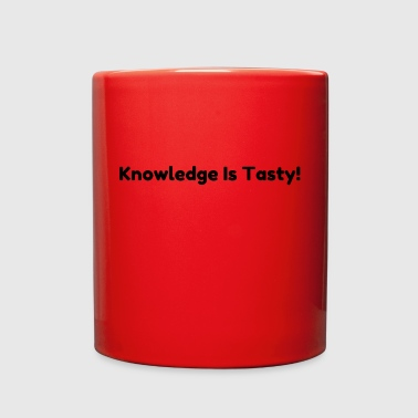 Knowledge is tasty - Full Color Mug