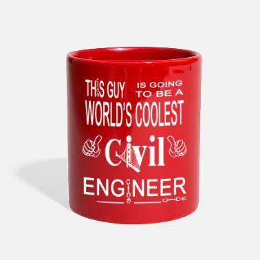 Civil Engineering Coolest Civil Engineer Shirt - Full Color Mug