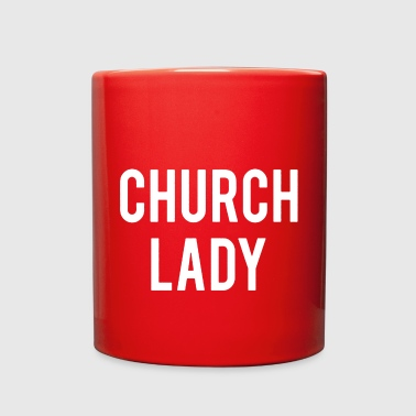 Church Church Lady Shirt - Full Color Mug
