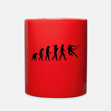 Hits tennis hit - Full Color Mug