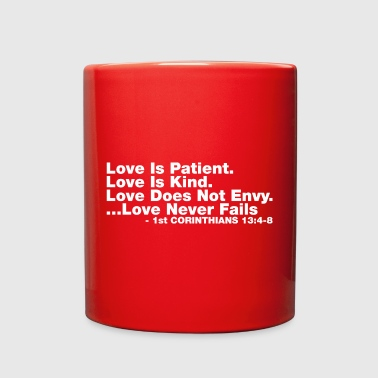 Love Bible Verse - Full Color Mug