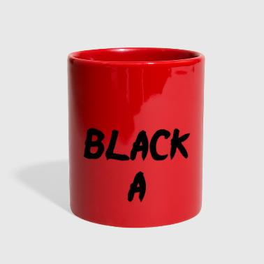 Black A - Full Color Mug