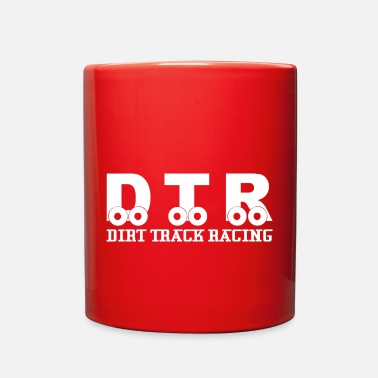 Race Track DTR Dirt Track Racing - Full Color Mug