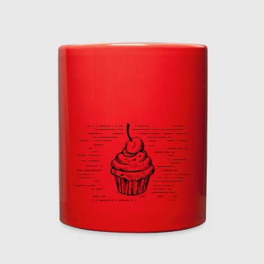 Muffin with Cherry - Full Color Mug
