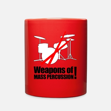Percussion Weapons of mass Percussion - Full Color Mug