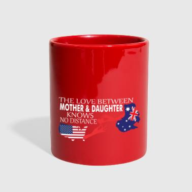 Knows No Distance Mother & Daughter Knows No Distance US & Australia - Full Color Mug
