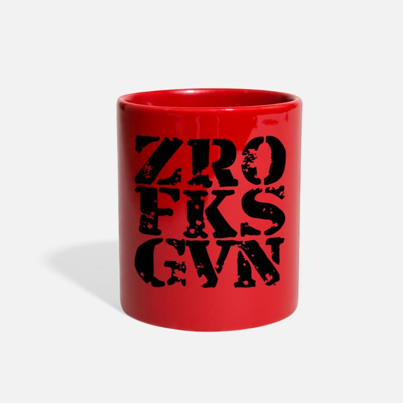 Funny Mugs & Drinkware - Funny - Full Color Mug red